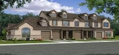 Builder Representation of the townhomes to be built in Smithfield 78748
