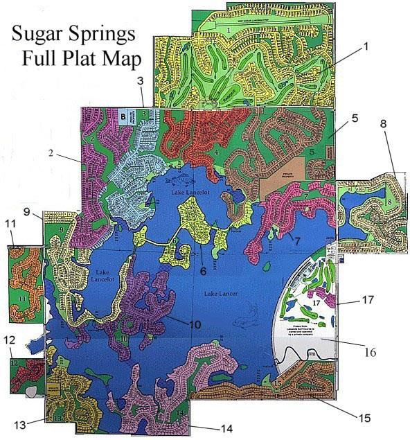 SUGAR SPRING FULL MAP