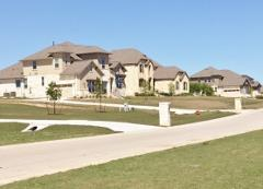 Another view of homes in the Rim Rock neighborhood 78619