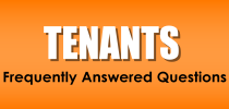Tenants - Frequently Answered Questions