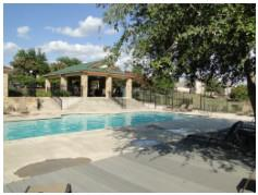 The community pool at Sawyer Ranch!