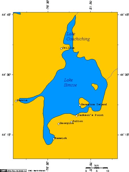 Lake Simkoe, Ontario