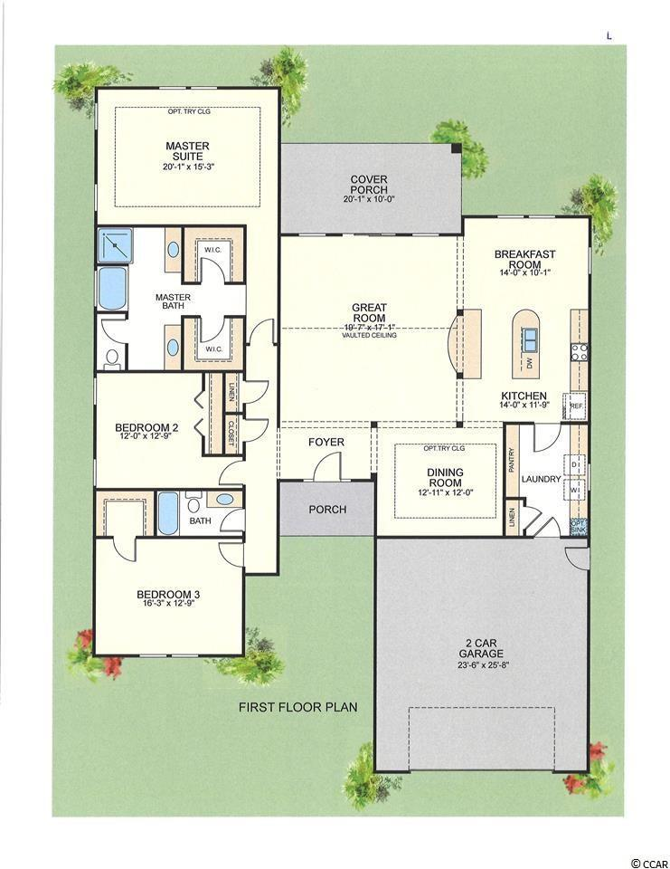 2800 sq ft house plan at Sago Plantation