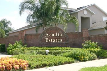 Acadia Estates Homes For Sale Near Disney World In Kissimmee