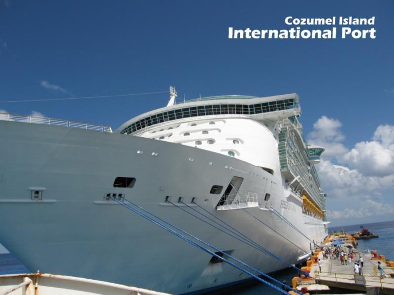 Cozumel Island Cruise ship
