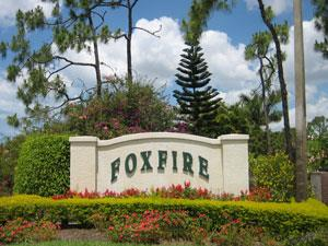 Foxfire Naples Fl sign