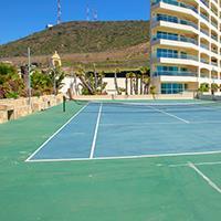 LAS OLAS GRAND TENNIS COURT ROSARITO BEACH
