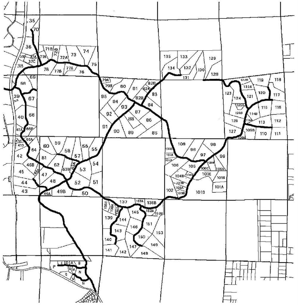 Crossroads Ranch Arizona State Land Map