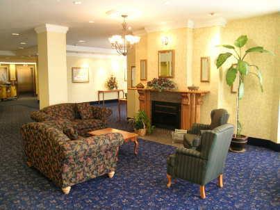Amica Place condominium lobby