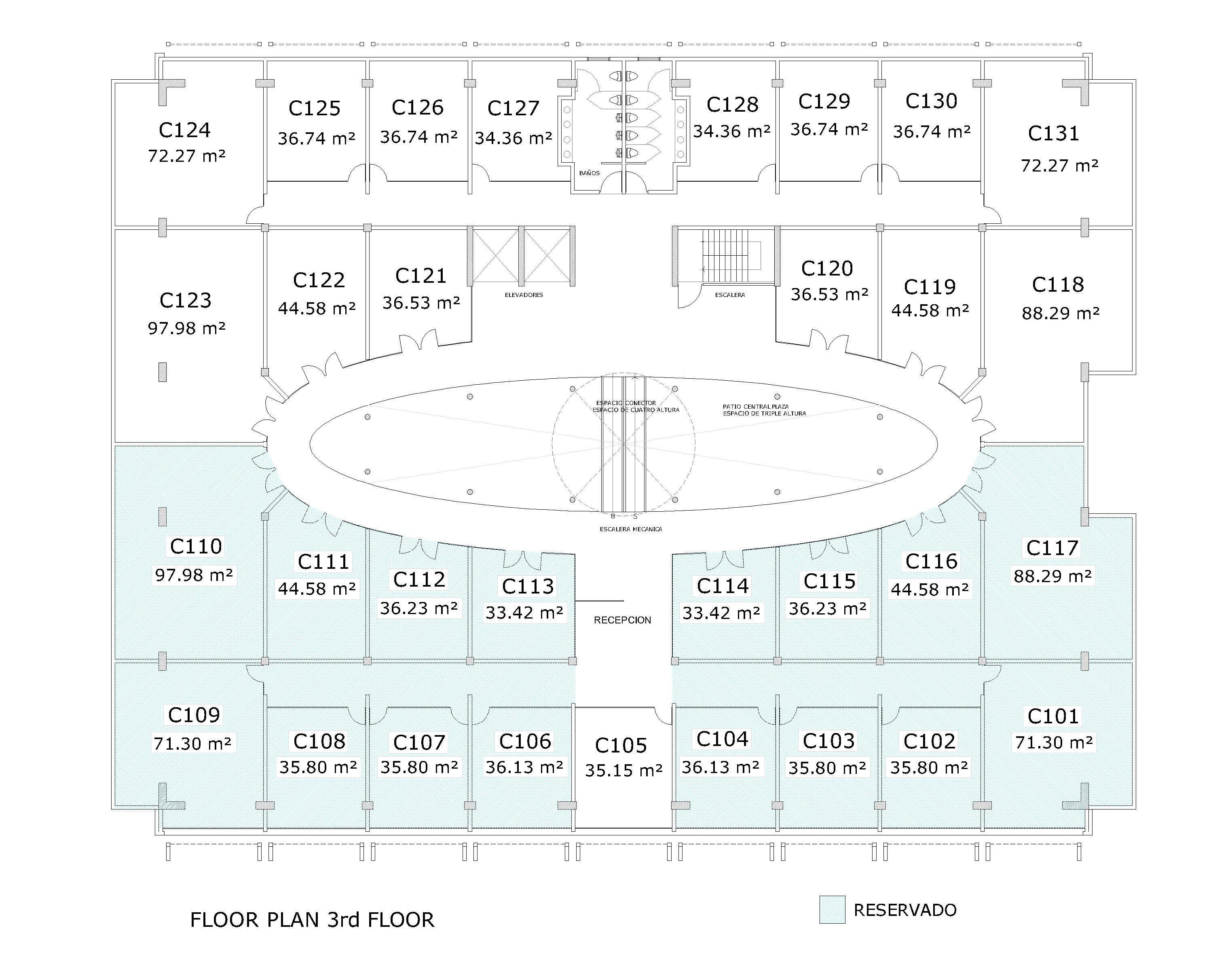 BTM Floor Plan 3rd Floor