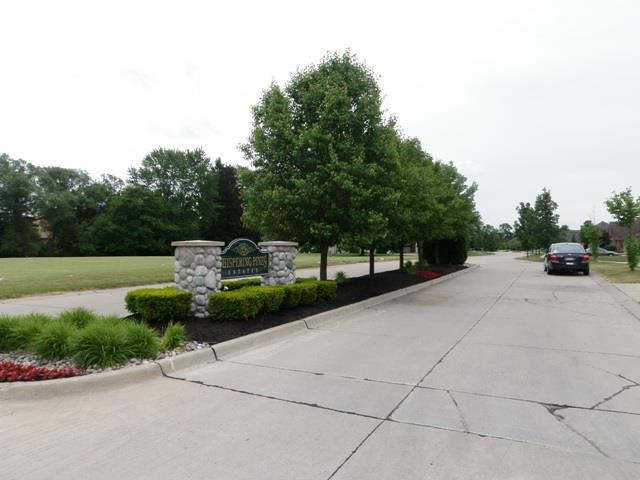 Whispering Pines Livonia Michigan sub entrance