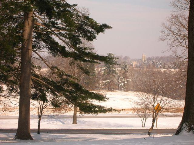 Valley Forge Park in winter