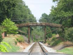 Railroad Bridge in Downtown Waxhaw