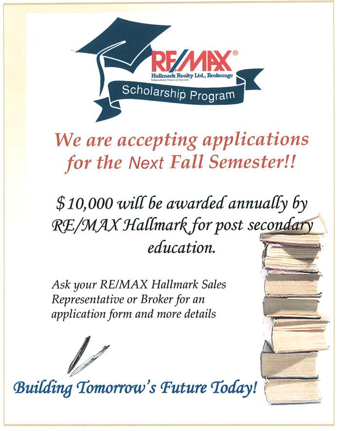 Scholarship Program - Enter now!