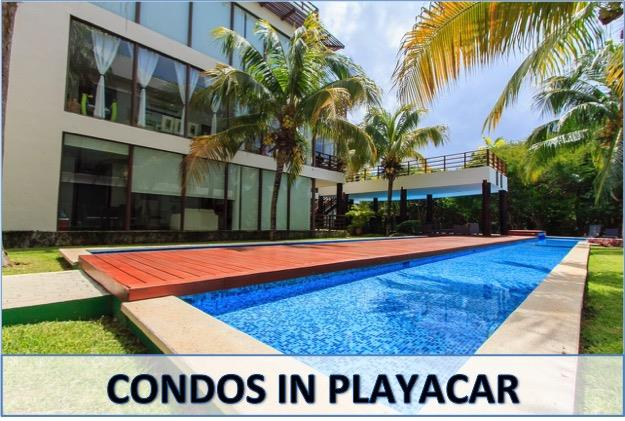 Playacar condos for sale in Playa del Carmen Mexico