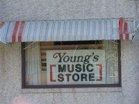 Young's Music Store in Whitehall