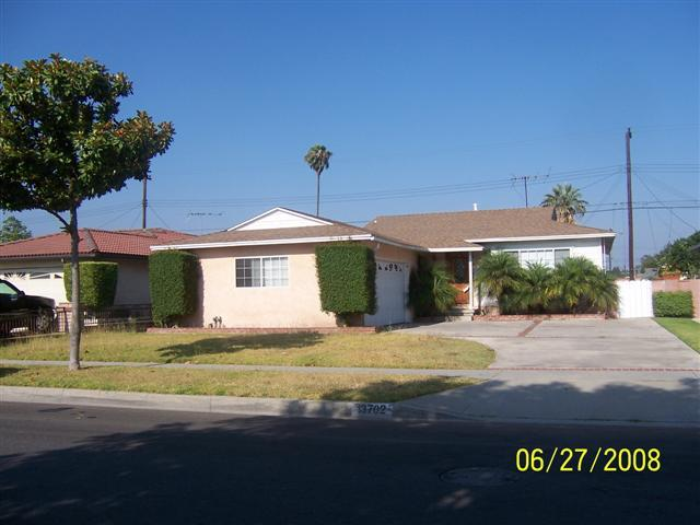 Buena Park Orange County CA REO Bank Owned