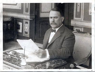 Alvaro Obregon, Mexico's president in 1920