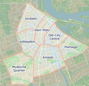Amsterdam areas