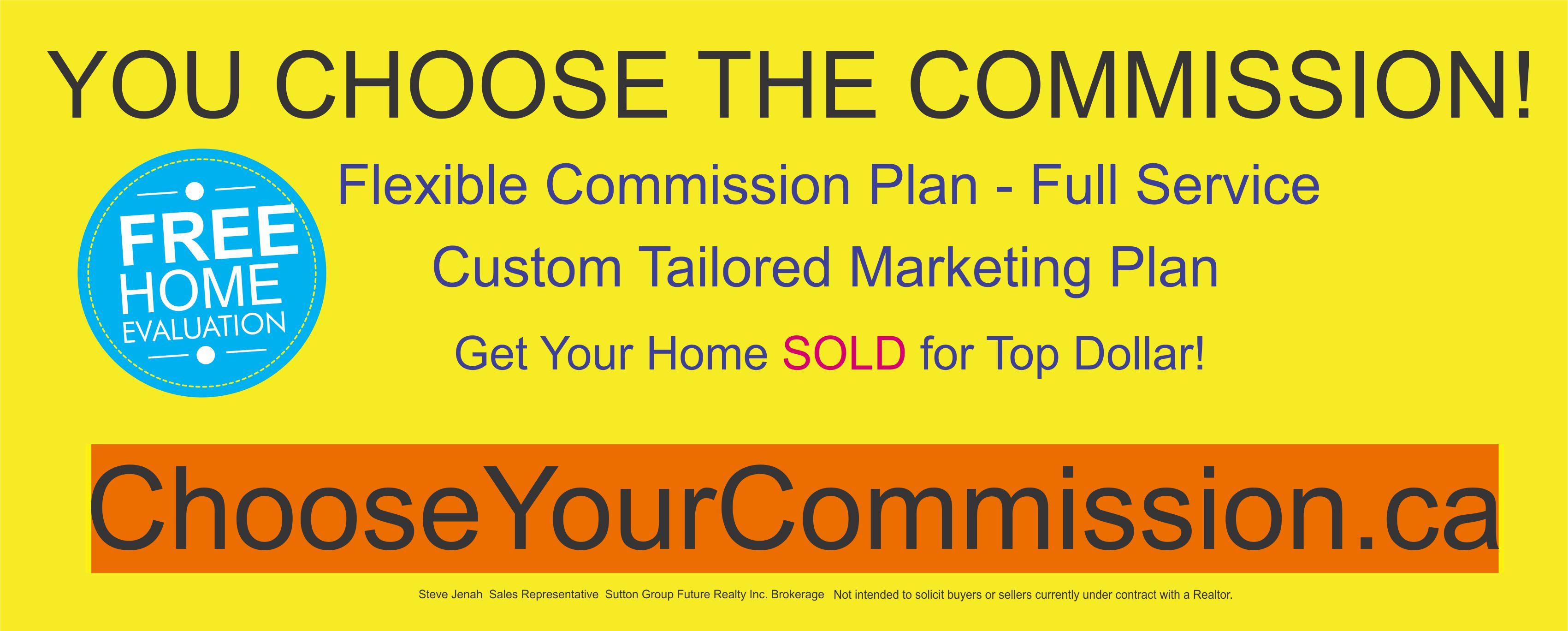 You Choose The Commission
