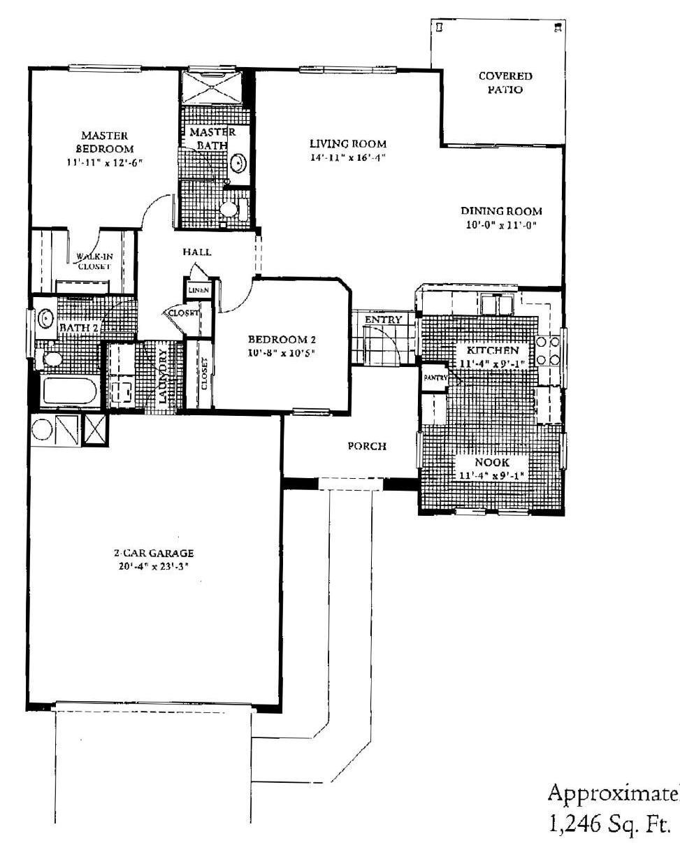Sun City Grand Cypress floor plan, Del Webb Sun City Grand Floor Plan Model Home House Plans Floorplans Models in Surprise Phoenix Arizona AZ Ken Meade Realty Kathy Anderson