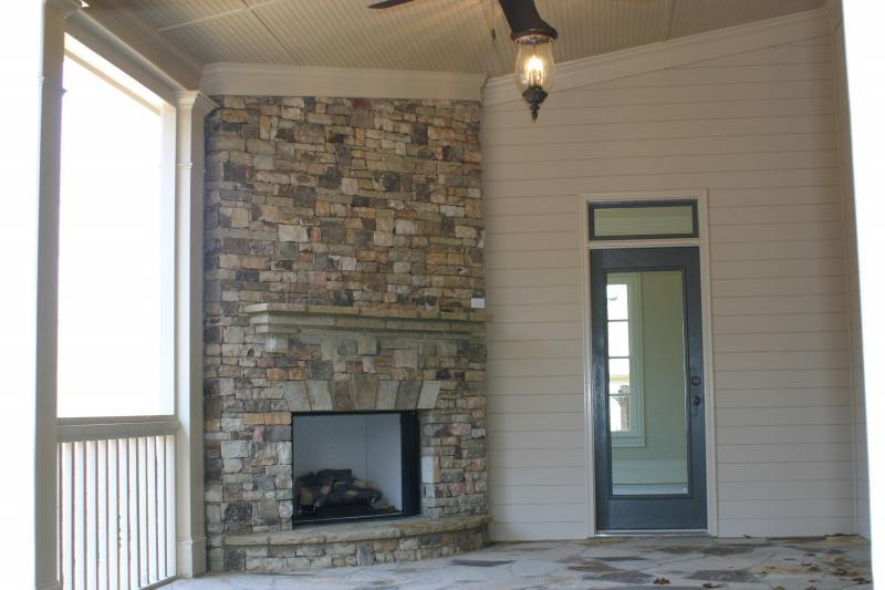 Lot 26 stone porch