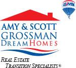 Amy and Scott Grossman Dream Homes. Real Estate Transition Specialists logo