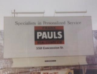 Frank Pauls Real Estate - est. 1962