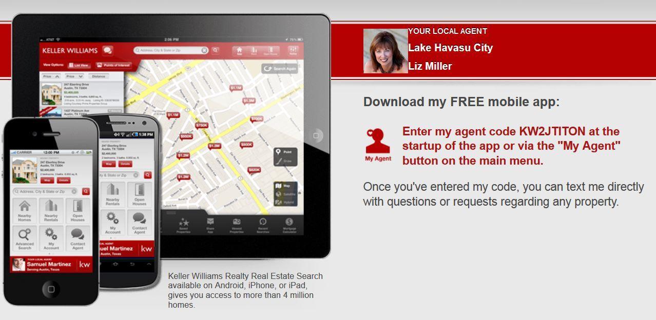 Get Liz's Exclusive FREE Mobile App