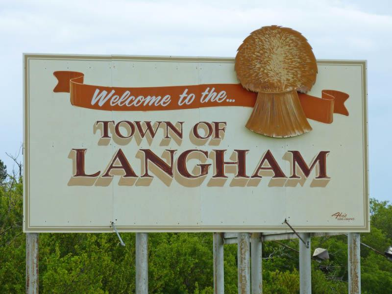 Town of Langham