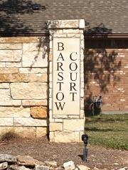 Barstow Court Circle C North sign