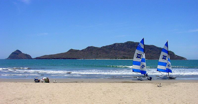 Beaches in Mazatlan, Mexico