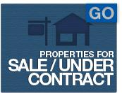 Properties For Sale/Under Contract