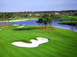 Twin Eagles Naples Fl golf course view