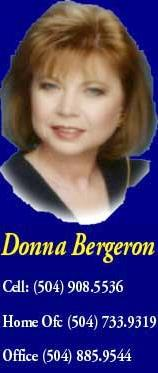 Donna Bergeron - Larry Trunk Real Estate