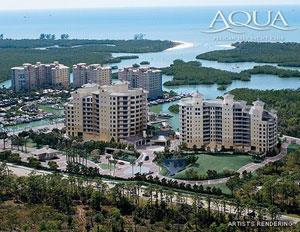Aqua Naples Fl aerial view