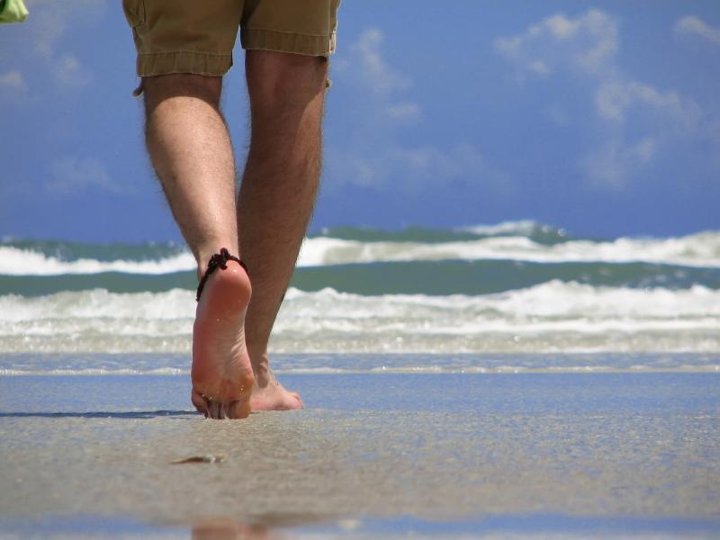 Project Watch San Felipe walk on the beach