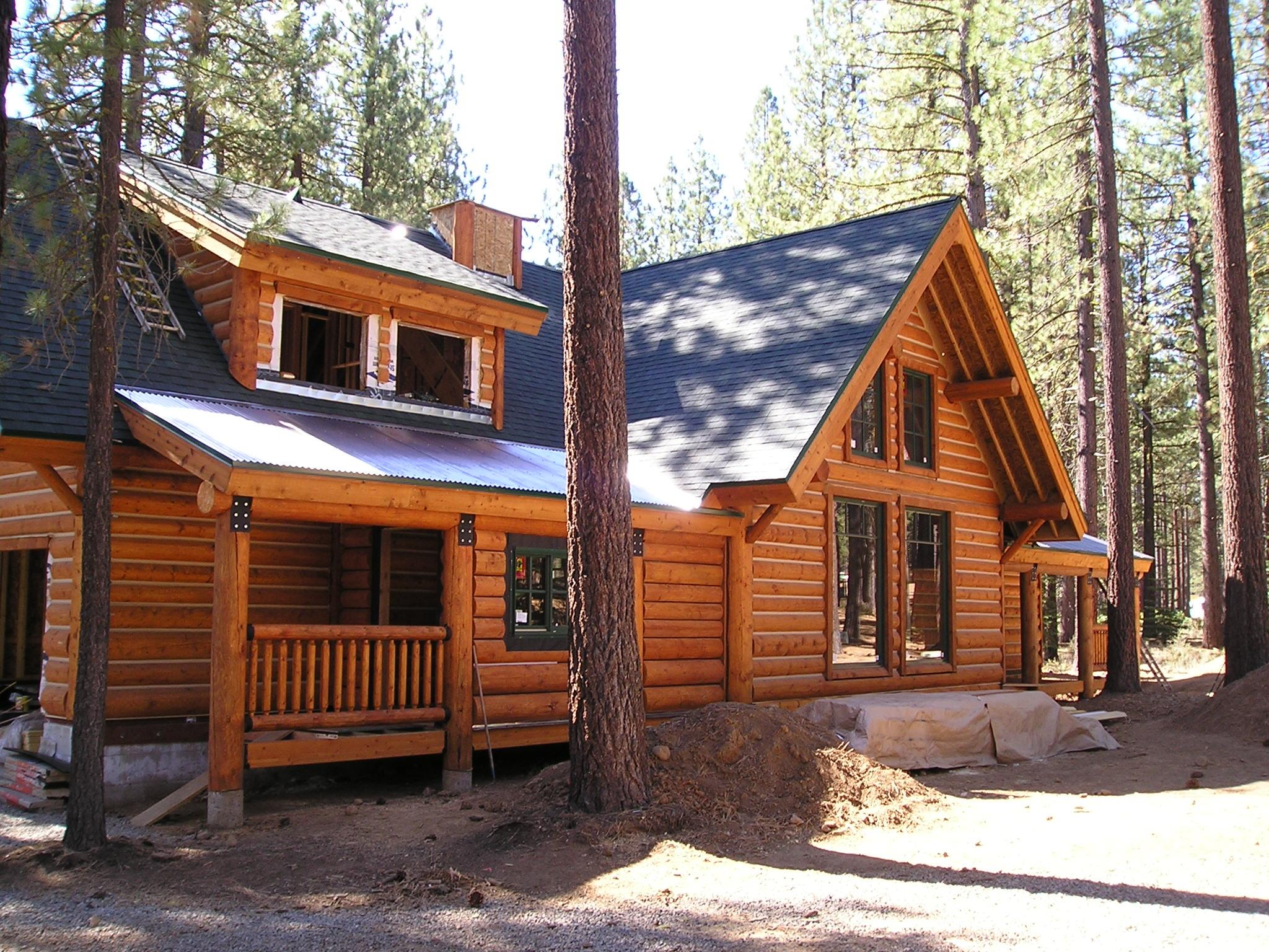 turn key log home, custom log home,truckee log homes,building calif log homes,log home dealer,utah nevada,california,log home builders truckee