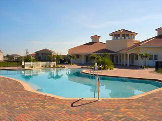 Valencia Lakes Naples Fl neighborhood clubhouse pool