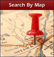 Search Listings by Map in Ottawa,Orleans,Rockland and surrounding areas