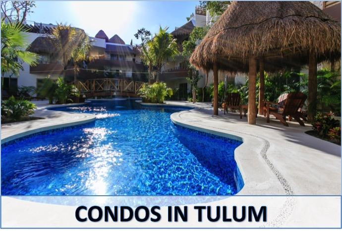 Tulum Mexico real estate - Condos for sale