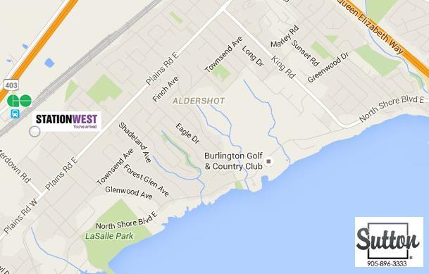 station west burlington map location alderson town homes