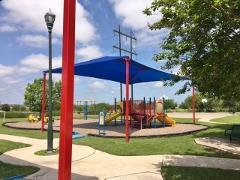 A view of the playground in Buda's StoneRidge neighborhood