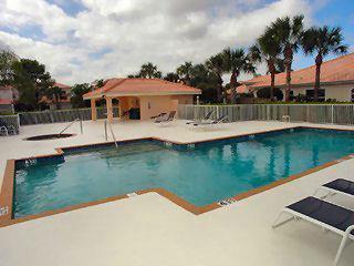 Heritage Greens Naples Fl community pool and spa