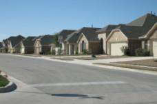 A view of homes in the Silver Leaf community in Round Rock.