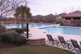 Swimming pools at the Falcon Pointe Resident's Club.