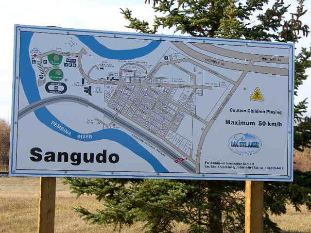 Sangudo lot location map
