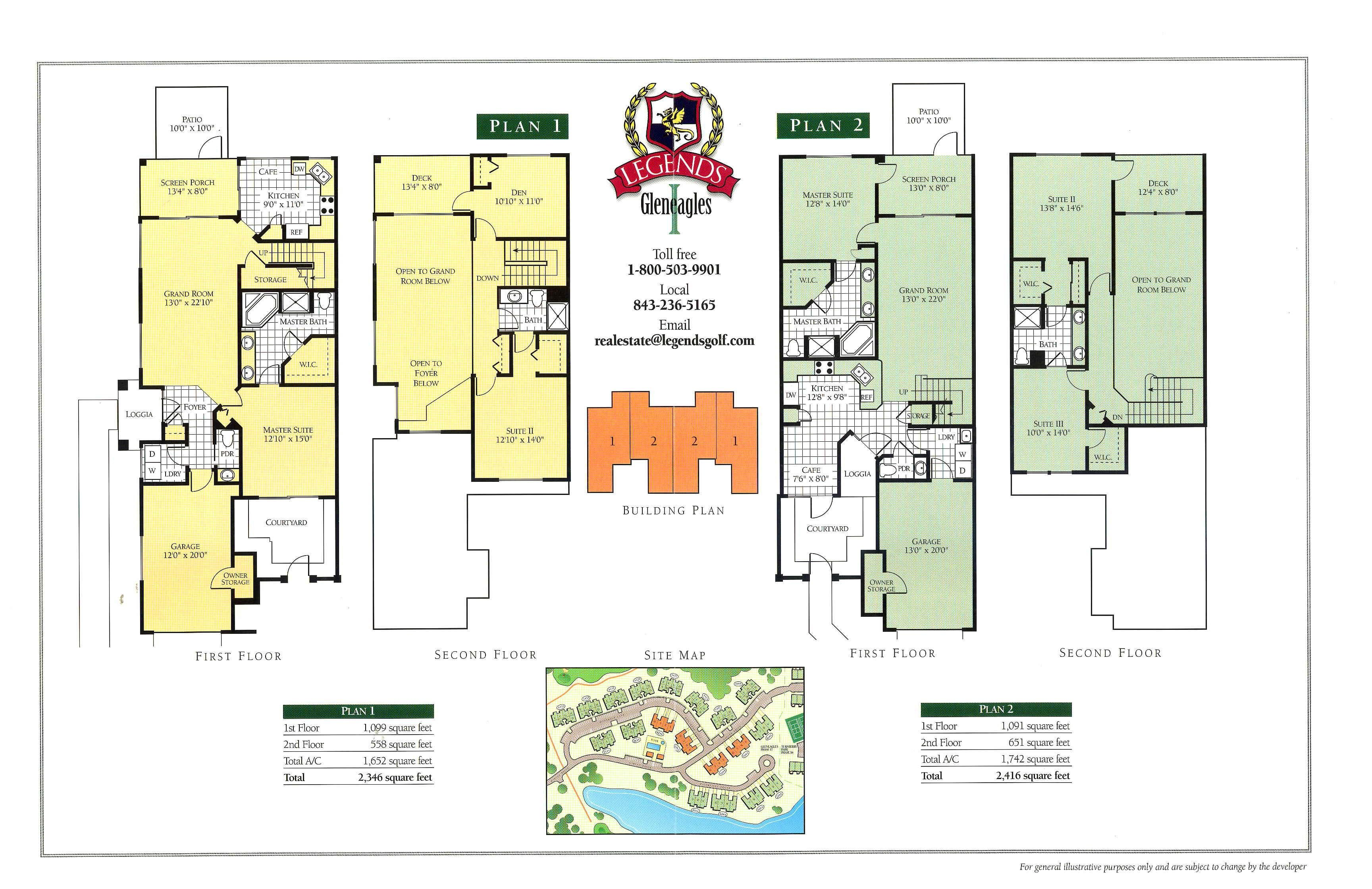town homes floorplans