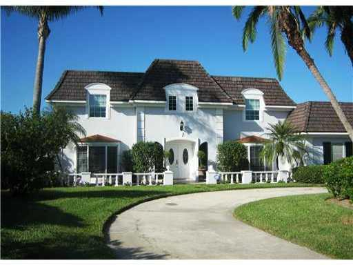 Grand home in secluded community