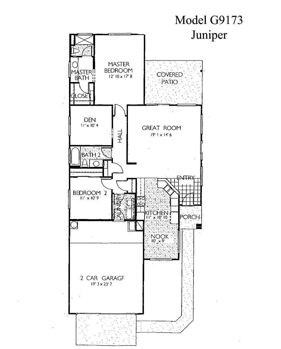 Sun City Grand Juniper floor plan, Del Webb Sun City Grand Floor Plan Model Home House Plans Floorplans Models in Surprise Phoenix Arizona AZ Ken Meade Realty Kathy Anderson